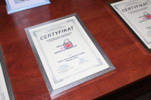 Certyfikat Zakup Prospołeczny Spółdzielnia Socjalna Nadzieja iPraca