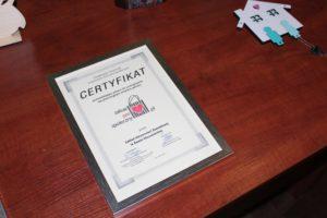 Certyfikat Zakup Prospołeczny ZAZ Rawa Mazowiecka