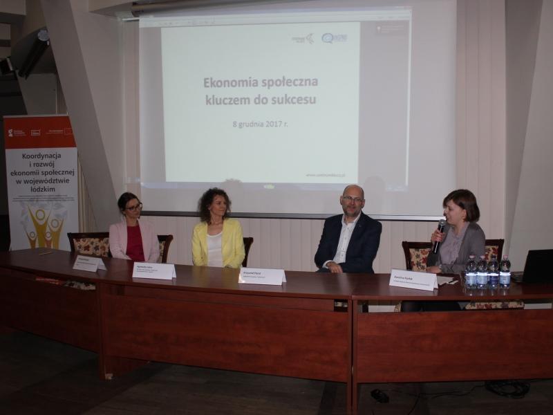panel Ekonomia społeczna kluczem do sukcesu