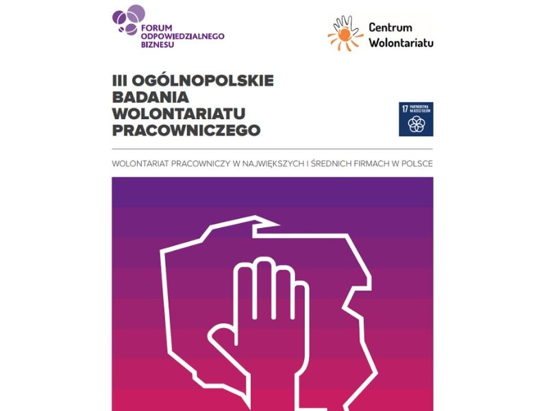 Raport z III Ogólnopolskiego Badania Wolontariatu Pracowniczego