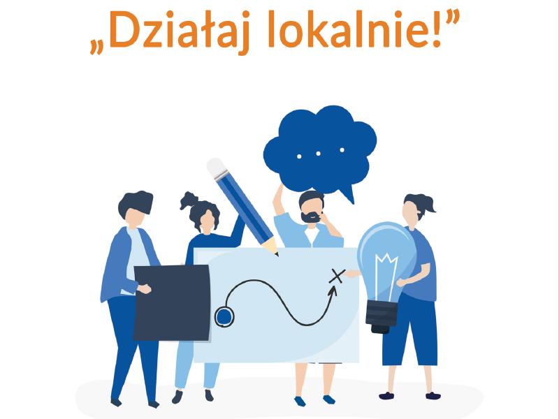 Działaj lokalnie! - przewodnik po centrach wolontariatu z terenu województwa łódzkiego
